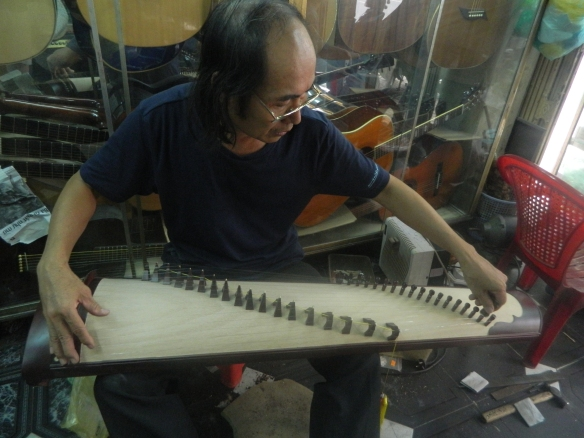 Honest guy, incredible luthier, great heart.