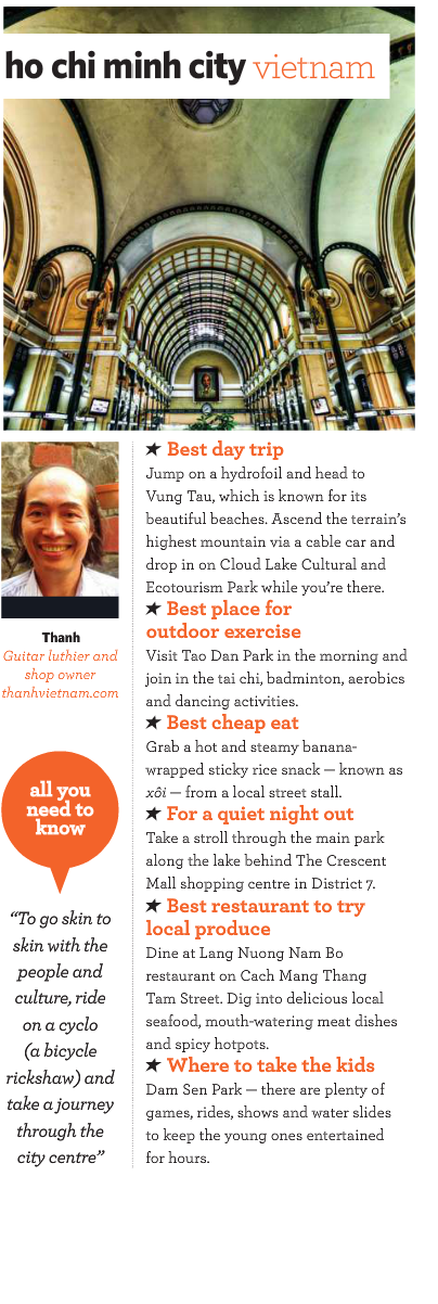 Thanh pictured in Jetstar Asia in flight magazine